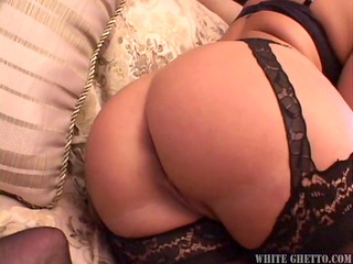 hot milf takes on two guys for creampie