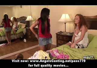 sexy lesbo chicks licking fur pie and fucking