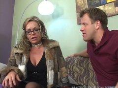 horny step mom pushes relationship boundaries