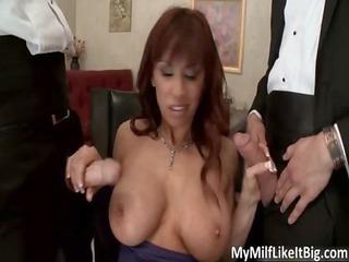 hawt redhead milf with large tits devon