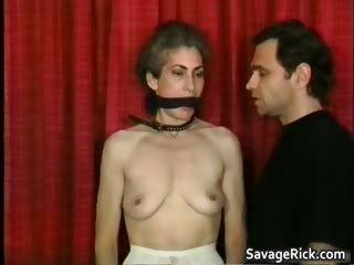 kinky milf is sex slave in weird slavery part11