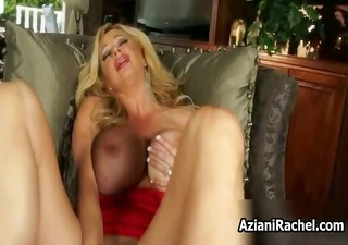 busty blond babe gets lewd part10