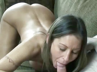 petite and busty wife leeanna swallows a dong