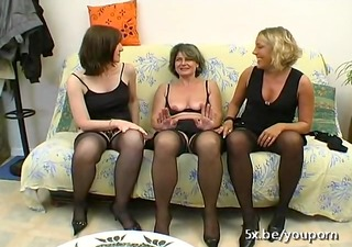 older christelle fucked in a groupsex