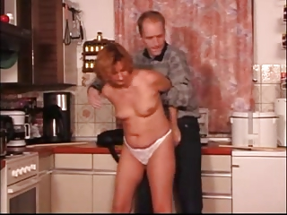 kitchen mature fingered spanked &; fuked xlx