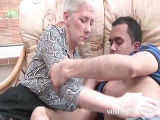 blonde aged gets her meatballs teased