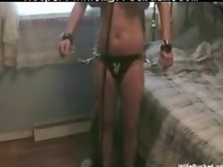 wife acquires tied up and fucked hard