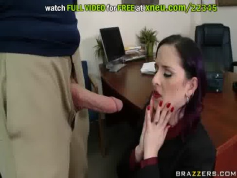 big pecker fuck in the office for the horny milf
