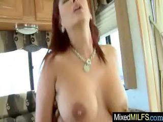 hardcore sex scene between naughty milf and black