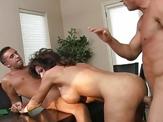 breasty dark brown horny mother i getting double