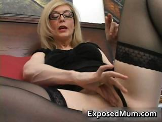 blonde mum in glasses licking hard part2