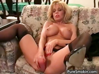 vibrator and cigarettes bondage movie part9