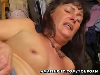 dilettante wife anal and oral stimulation with