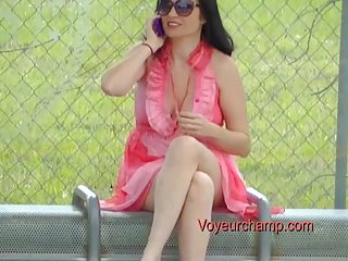exhibitionist wife#49-bus stop flashing russian