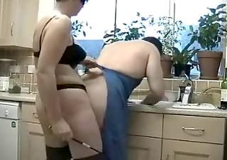 kitchen strapon
