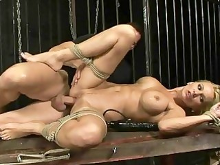 breasty mother i receives bondaged and screwed