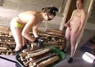 horny milf babe fucks lucky young stranger &