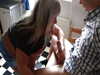 german older receive drilled by a juvenile guy