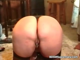 fat older doxy loves sadomasochism games as she