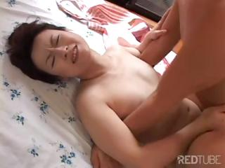 oriental wife makes a great bowl of soup and