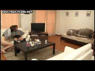 hawt asian wife gets licked and screwed and after