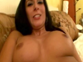 cougar mom is engulfing a cock