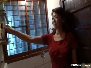 large tits japanese mommy loves playing