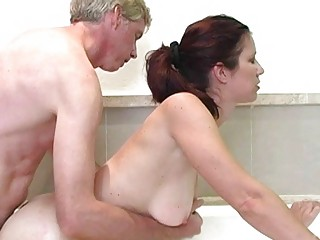 hot redhead mother i with big mambos acquires