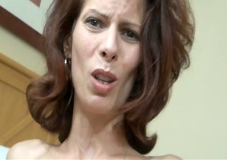 son blackmailes mom and cums inside of her 6