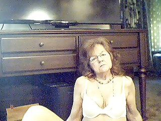 95 y.o. ravishing sexy granny with long hair