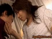 aged japanese honey receives fingered