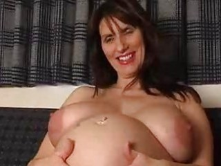 preggo amateur mother i spreads her gaping love