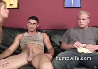 cuckold oral-job shames her husband while he