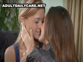 beautiful aged lesbian seduces youthful beauty -