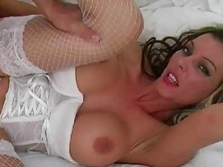classy cheating milf wife fucked in sexy white