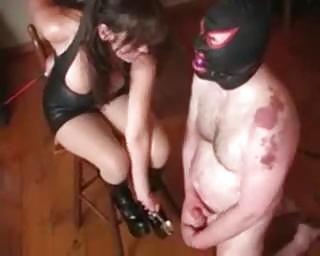 extreme milf perverted balls servitude