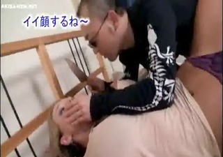 aged blonde wife forced by japanese chap 4 -