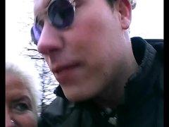 blond german milf claudia can it hard