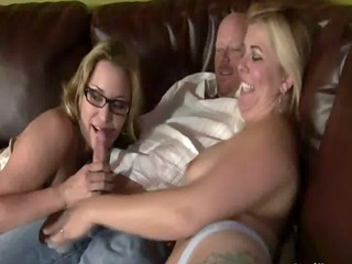 step dad love being blown by his family in his