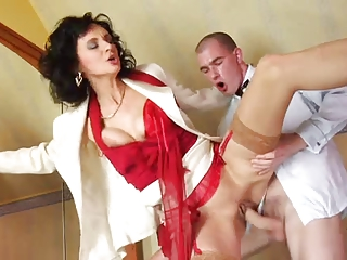 nylons mature, red shoes anal and ejaculation