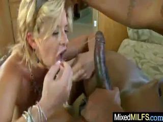 busty sexy milf ride biggest darksome mamba penis