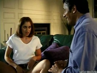 daughter seduced old daddy in absence of mom