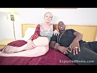 granny in creampie interracial video