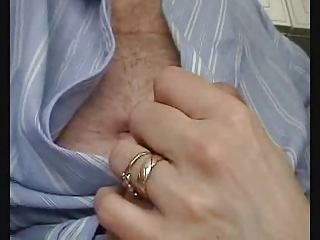british wife gives fleshly jack off and engulf to