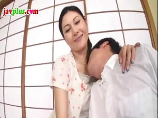 censored movie of a japanese milf fucking a much