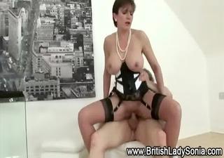 rod fucking british whore