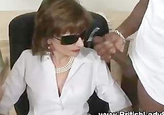 horny lady sonia gets cumshots