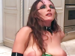 milf fucks in latex underware boots and gloves