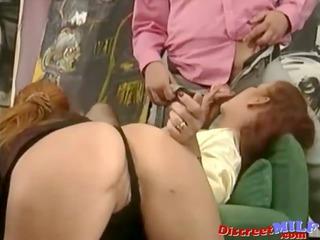 spanish dude fuck mature ladies and pee on em