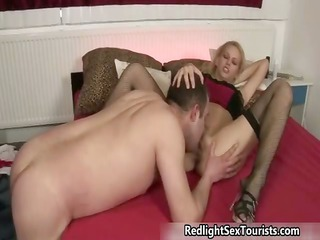 excited polish guy likes licking